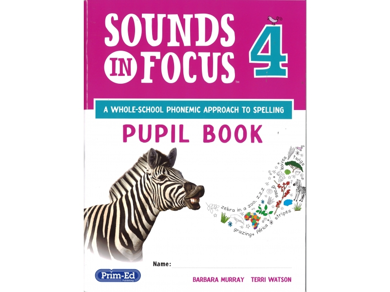 Sounds In Focus - Pupil Book - Fourth Class