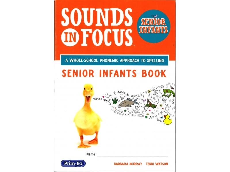 Sounds In Focus - Pupil Book - Senior Infants