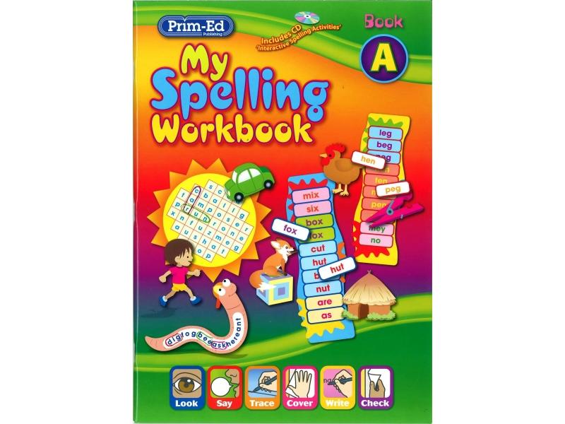 My Spelling Workbook A - New Edition - Senior Infants