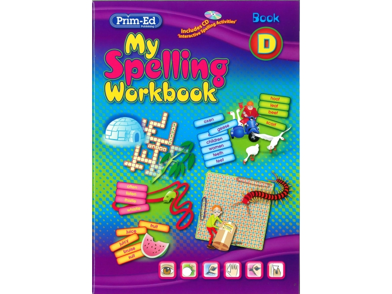 My Spelling Workbook D - New Edition - Third Class