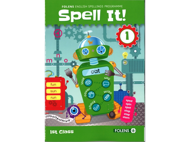 Spell It 1 - English Spelling Programme - 1st class