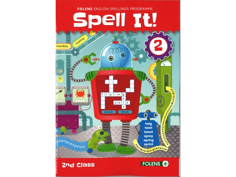 Spell It 2 - English Spelling Programme - 2nd class
