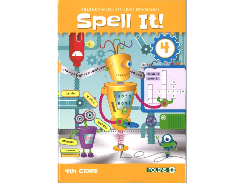 Spell It 4 - English Spelling Programme - 4th Class