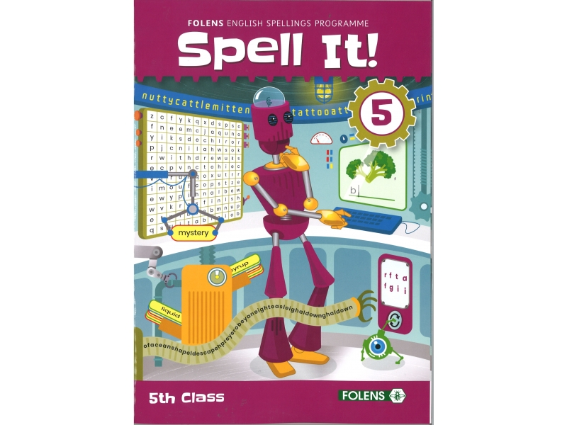 Spell It 5 - English Spelling Programme - 5th class