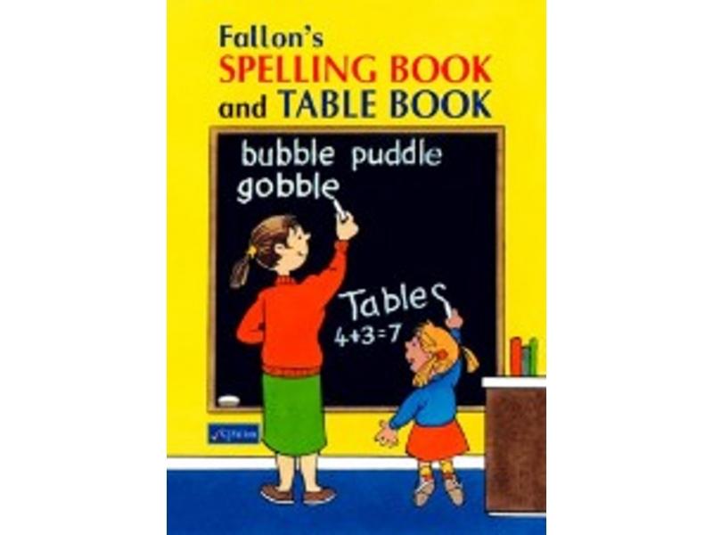 Fallon's Spelling & Table Book