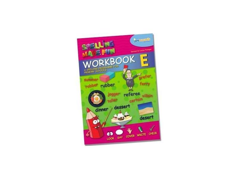 Just Rewards - Spelling Made Fun Workbook E - Fourth Class