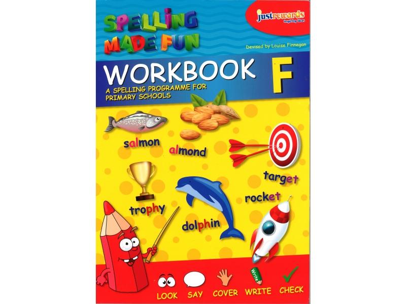Just Reward - Spelling Made Fun Workbook F - Fifth Class