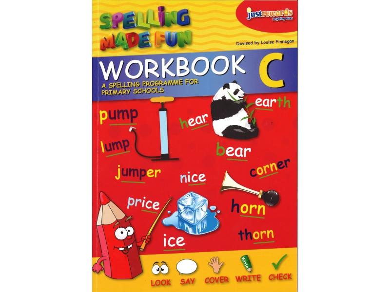 Just Rewards - Spelling Made Fun Workbook C - Second Class