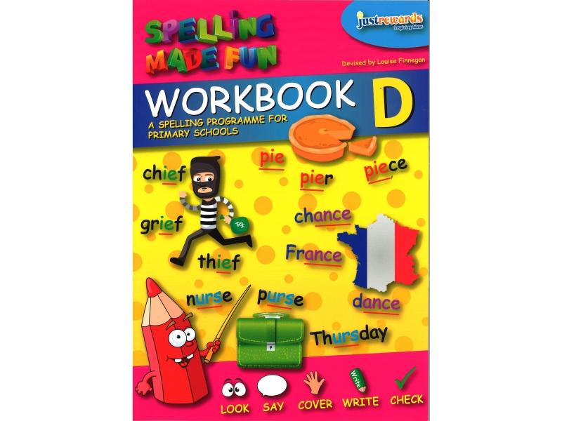 Just Rewards - Spelling Made Fun Workbook D - Third Class