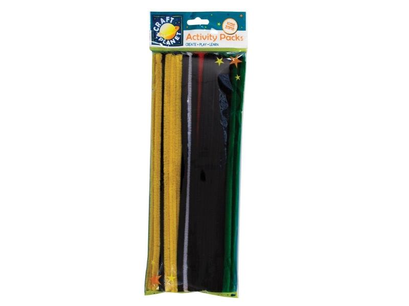 Craft Planet - Chenille Stems Vivid Colours 60pk 300mm