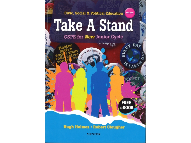 Take A Stand - Textbook & Student Portfolio - CSPE For Junior Cycle - Includes Free eBook