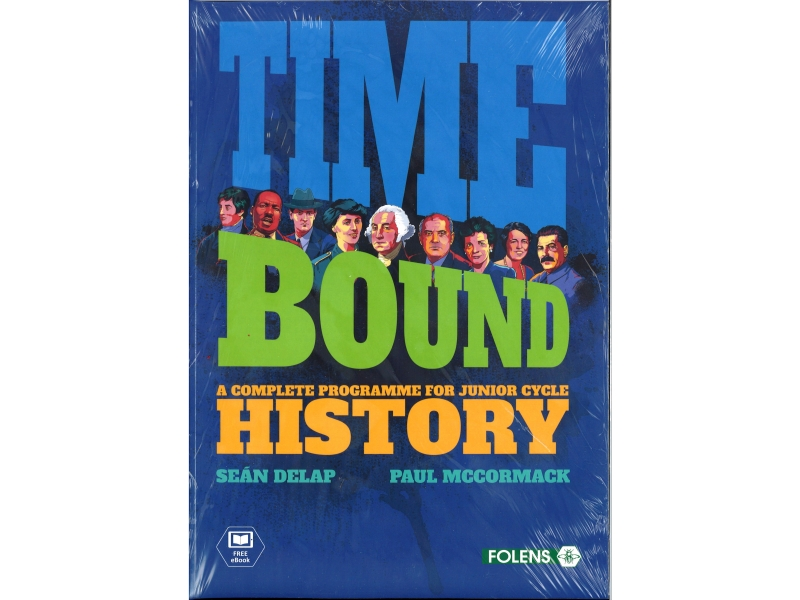 Time Bound Pack - Textbook & Evidence Book - Junior Cycle History - Includes Free eBook