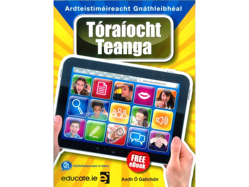 Tóraíocht Teanga Gnáthleibhéal - Textbook - Leaving Certificate Irish - Includes Free eBook