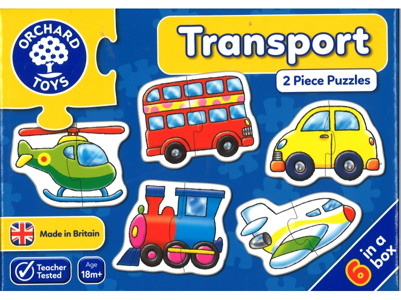 Transport jigsaws