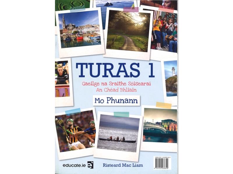 Turas 1 Pack - Textbook & Portfolio/Activity Book & 2 CD's