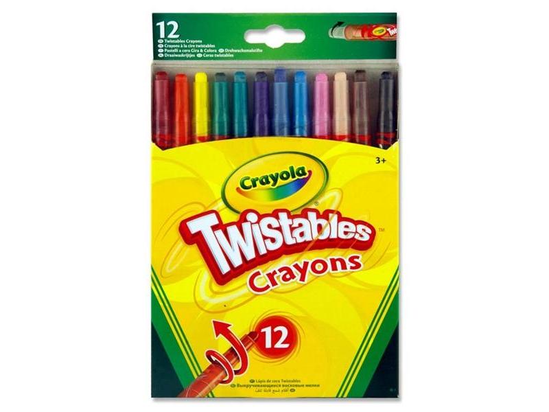 Crayola Twistables 12 Pack
