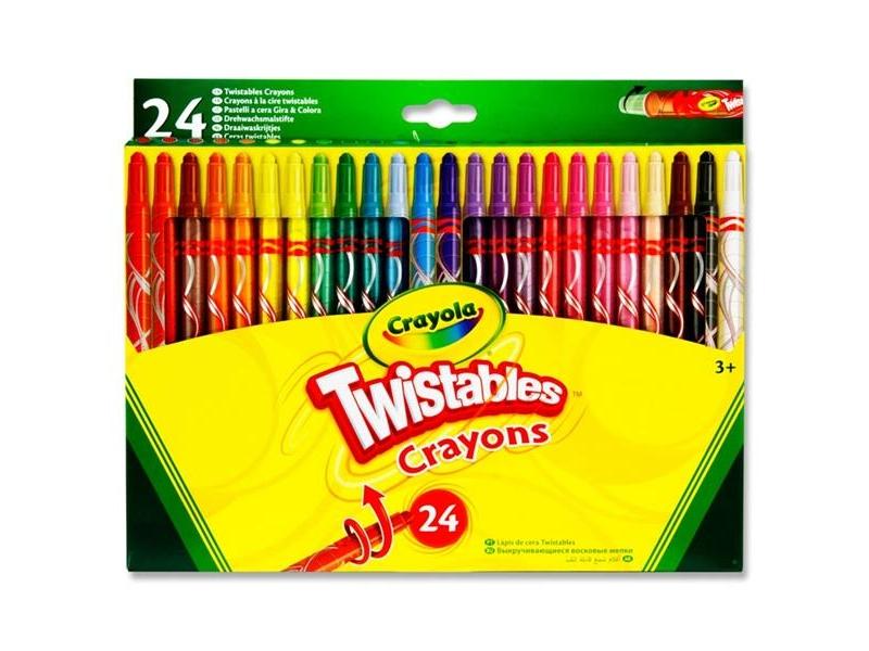 Crayola Twistables 24 Pack