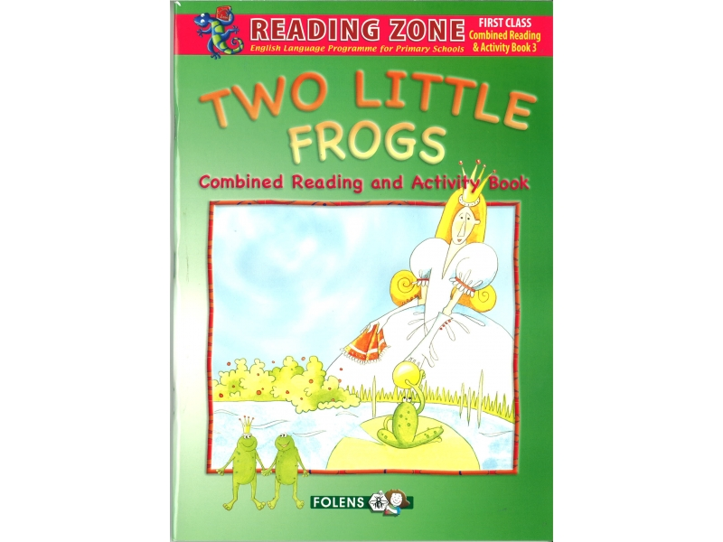 Two Little Frogs  - Combined Reader & Workbook - Reading Zone - First Class