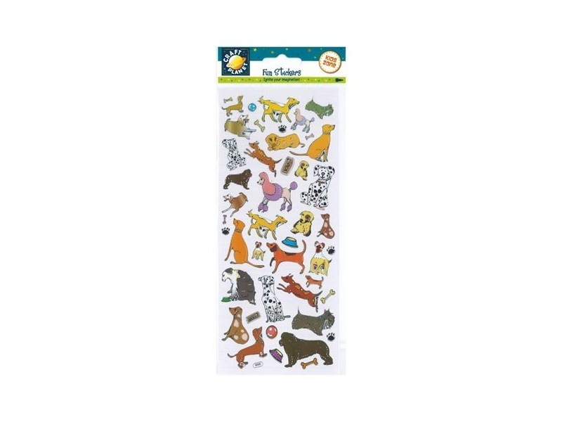 Craft Planet - Fun Stickers Dogs