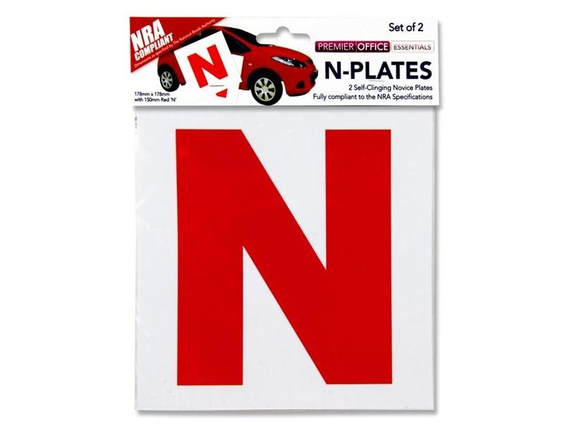 N - Plates 2 Pack