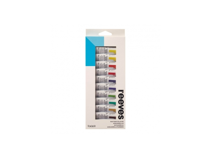 Watercolour paint set 12 tubes