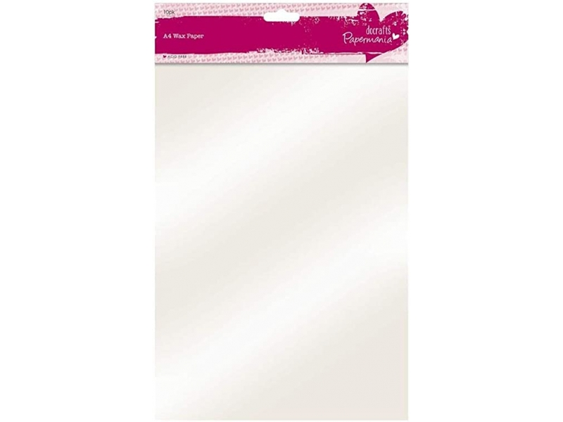 Papermania - A4 Wax Paper 10pk