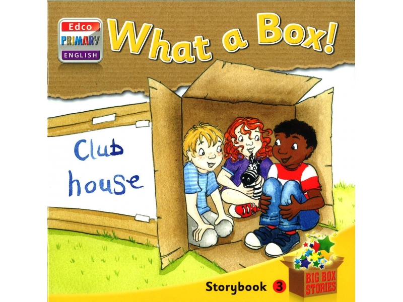 What A Box! - Storybook 3 - Big Box Adventures - Senior Infants