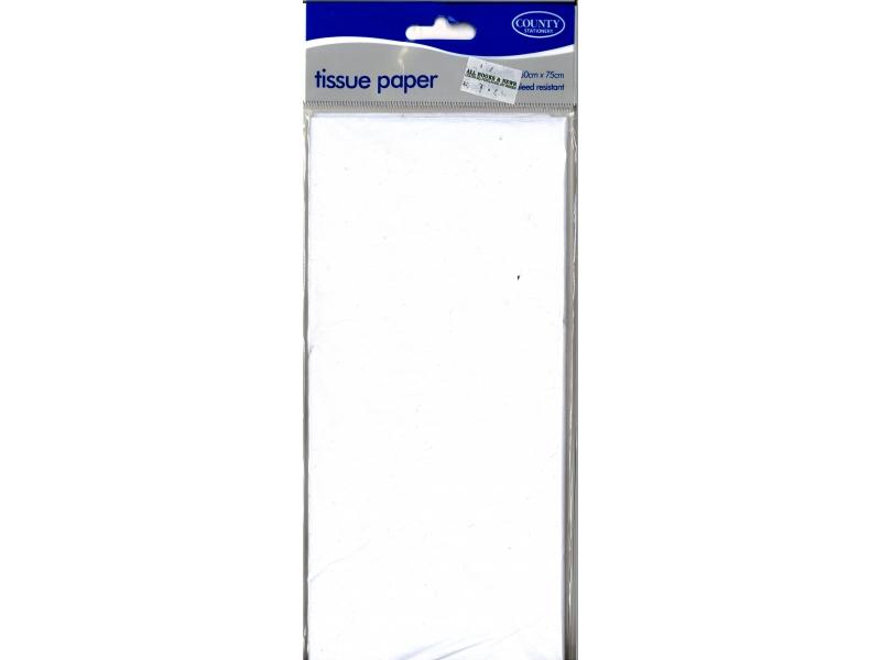 Tissue Paper 10 Sheets - White