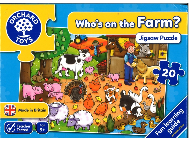Who's on the farm?