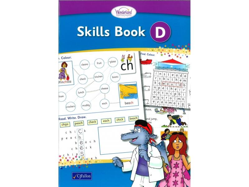 Skills Book D - Wonderland Stage One - Senior Infants