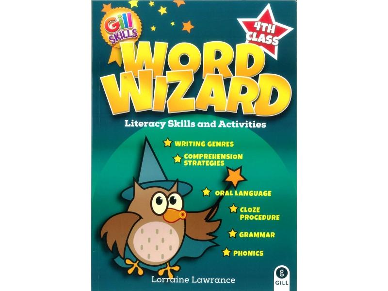 Word Wizard 4 - Literacy Skills & Activities - Fourth Class
