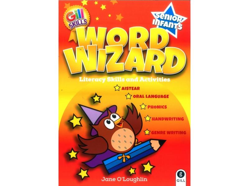 Word Wizard - Literacy Skills & Activities - Senior Infants