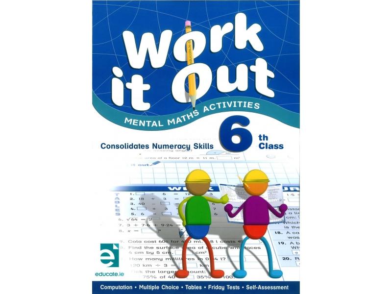 Work It Out - Mental Maths Activities - 6th Class
