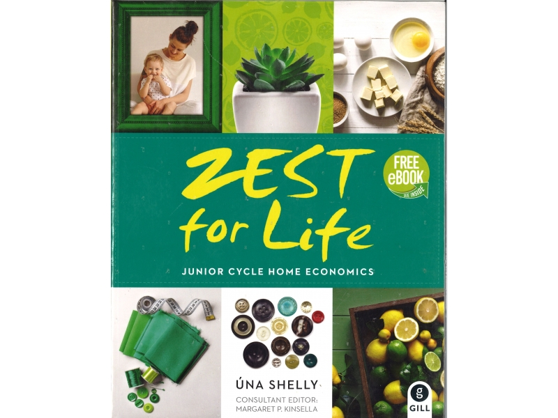 Zest For Life Pack - Junior Cycle Home Economics - Textbook & Skills Book