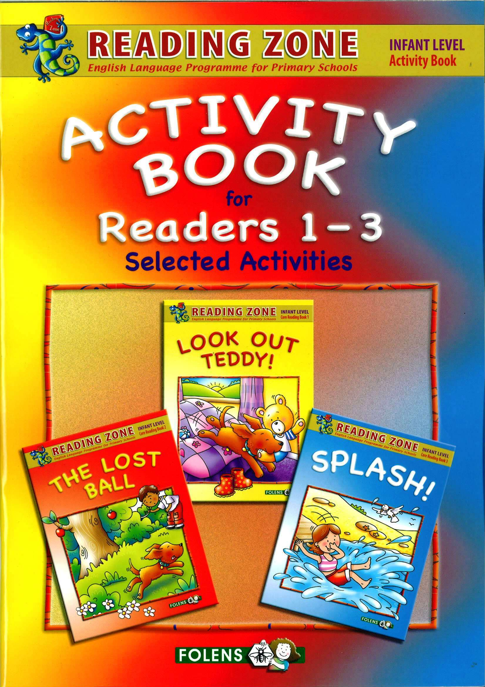 3 in 1 activity book for core readers 1 3 reading zone junior