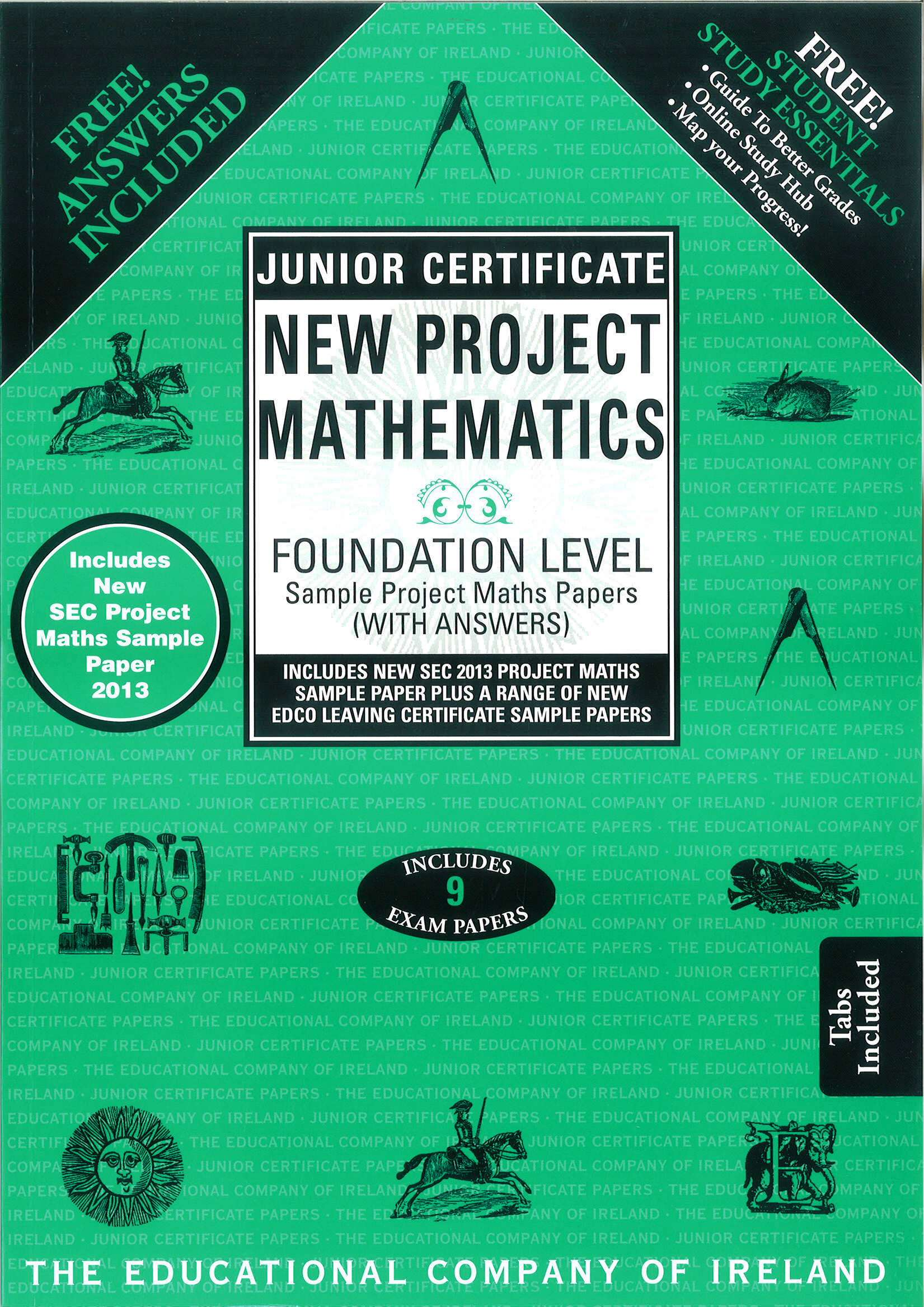 Junior Cert Maths Foundation Level - Includes 2018 Exam Papers