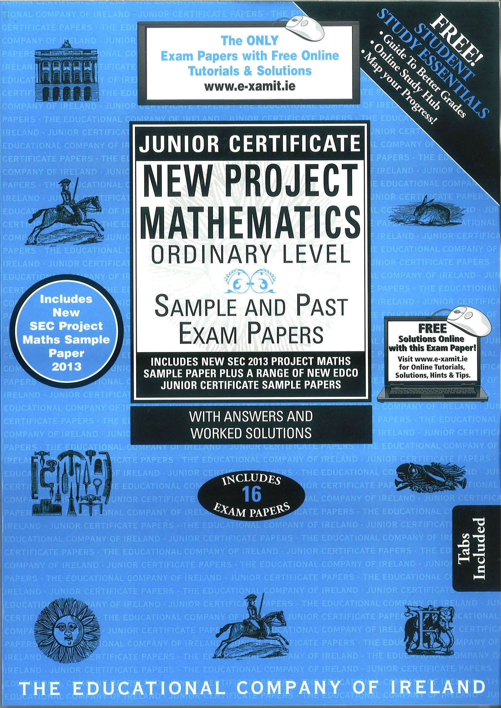 Junior Cert Maths Ordinary Level - Includes 2018 Exam Papers