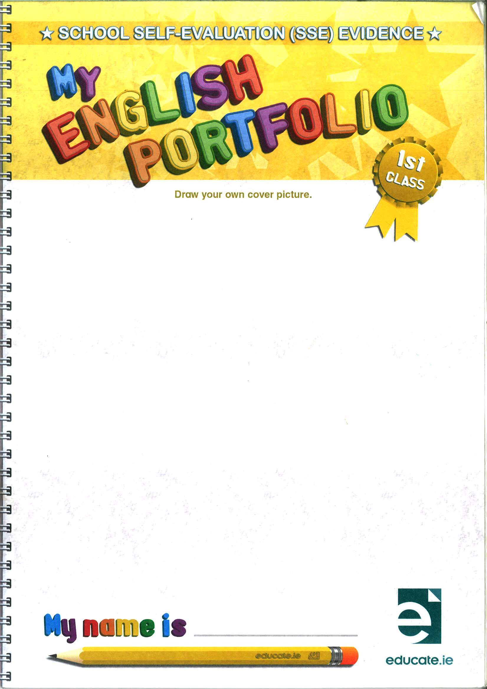 english writing workbook