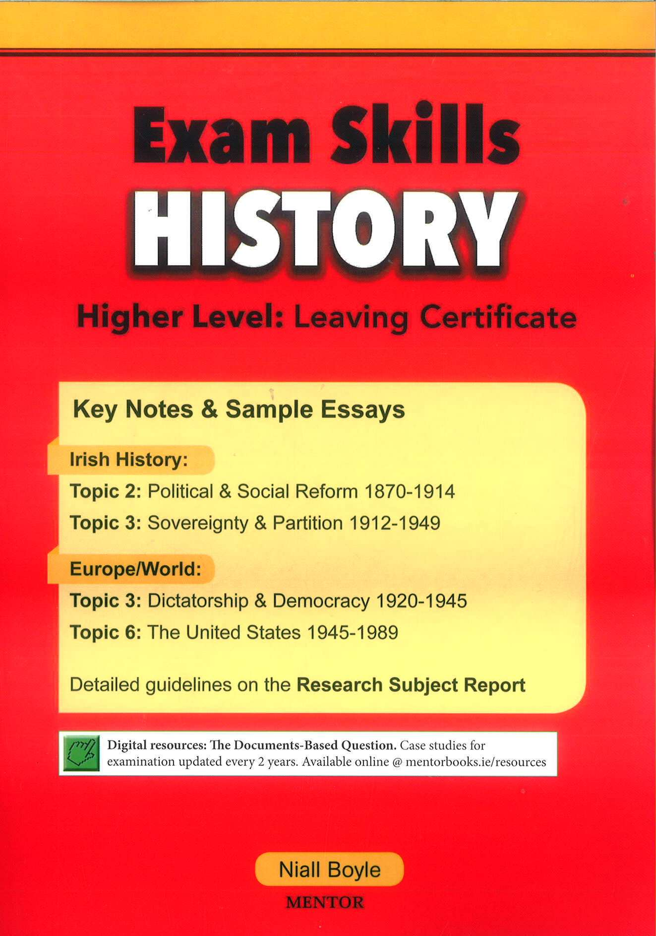 leaving certificate history essays Rte leaving cert history 2005 leaving cert history revision guide higher level: revision topics: leaving certificate 1999, 1997, 1996, 1995 and 1987.