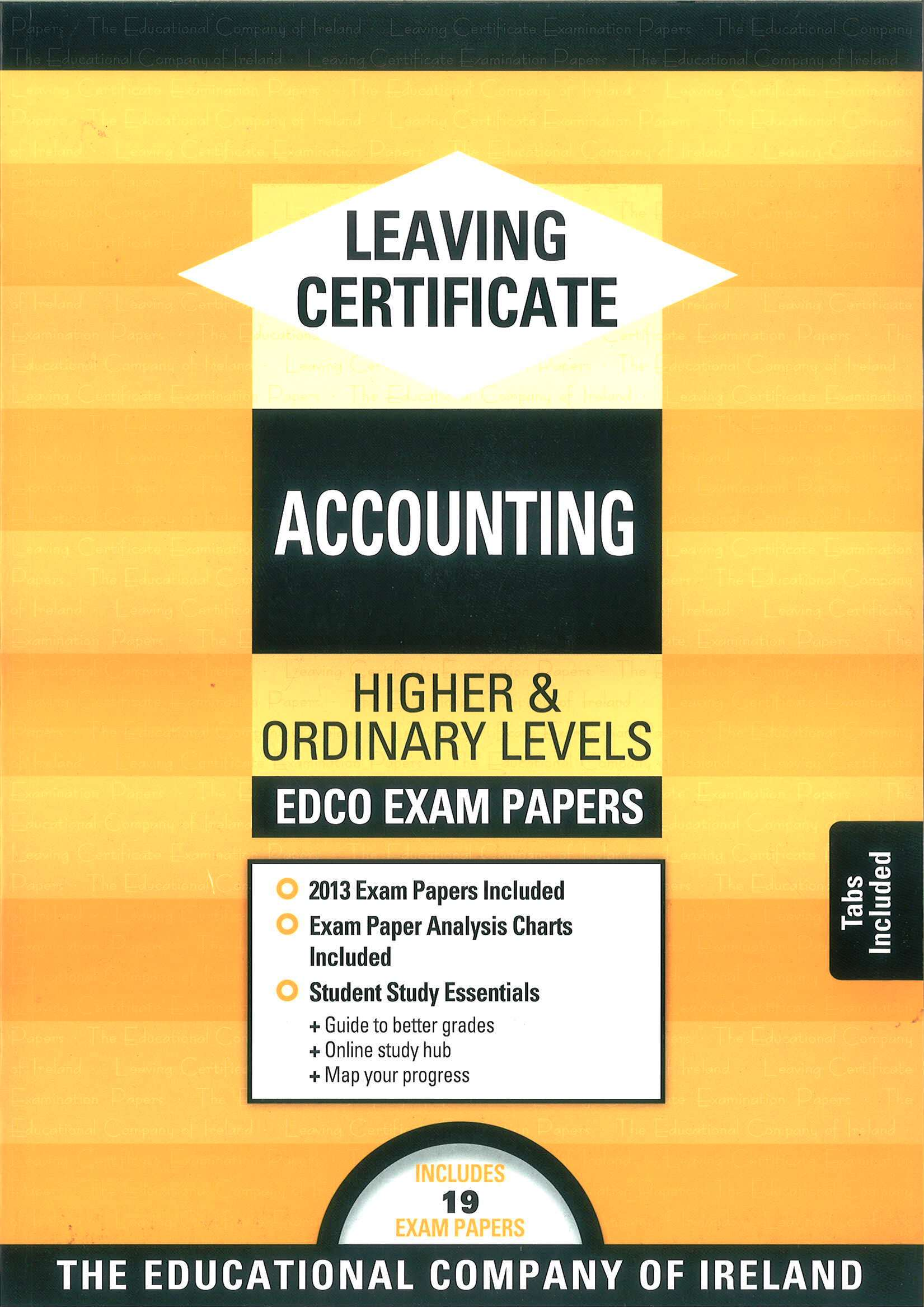 Leaving Cert Accounting Higher Ordinary Levels Includes 2018