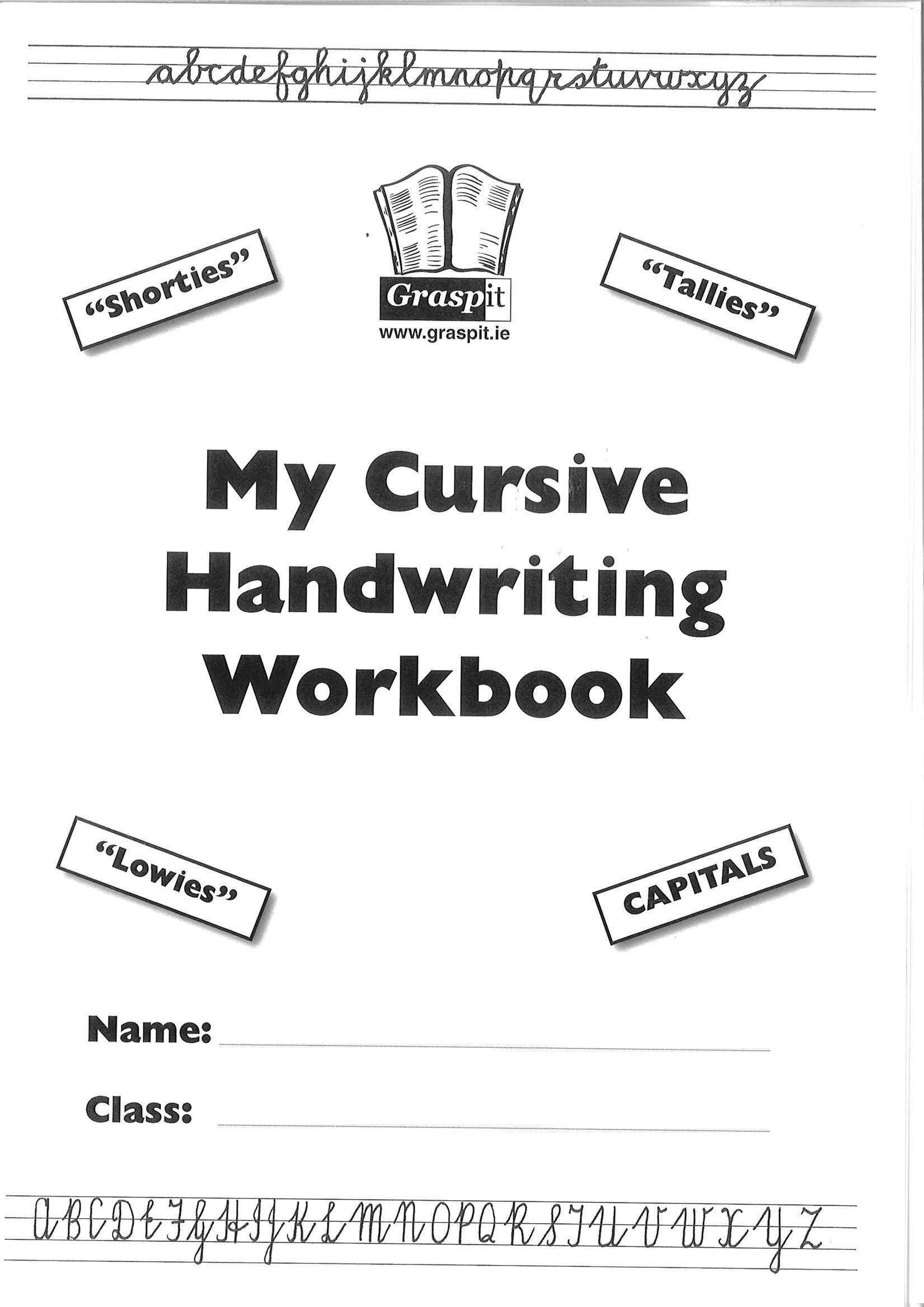 English Handwriting Book