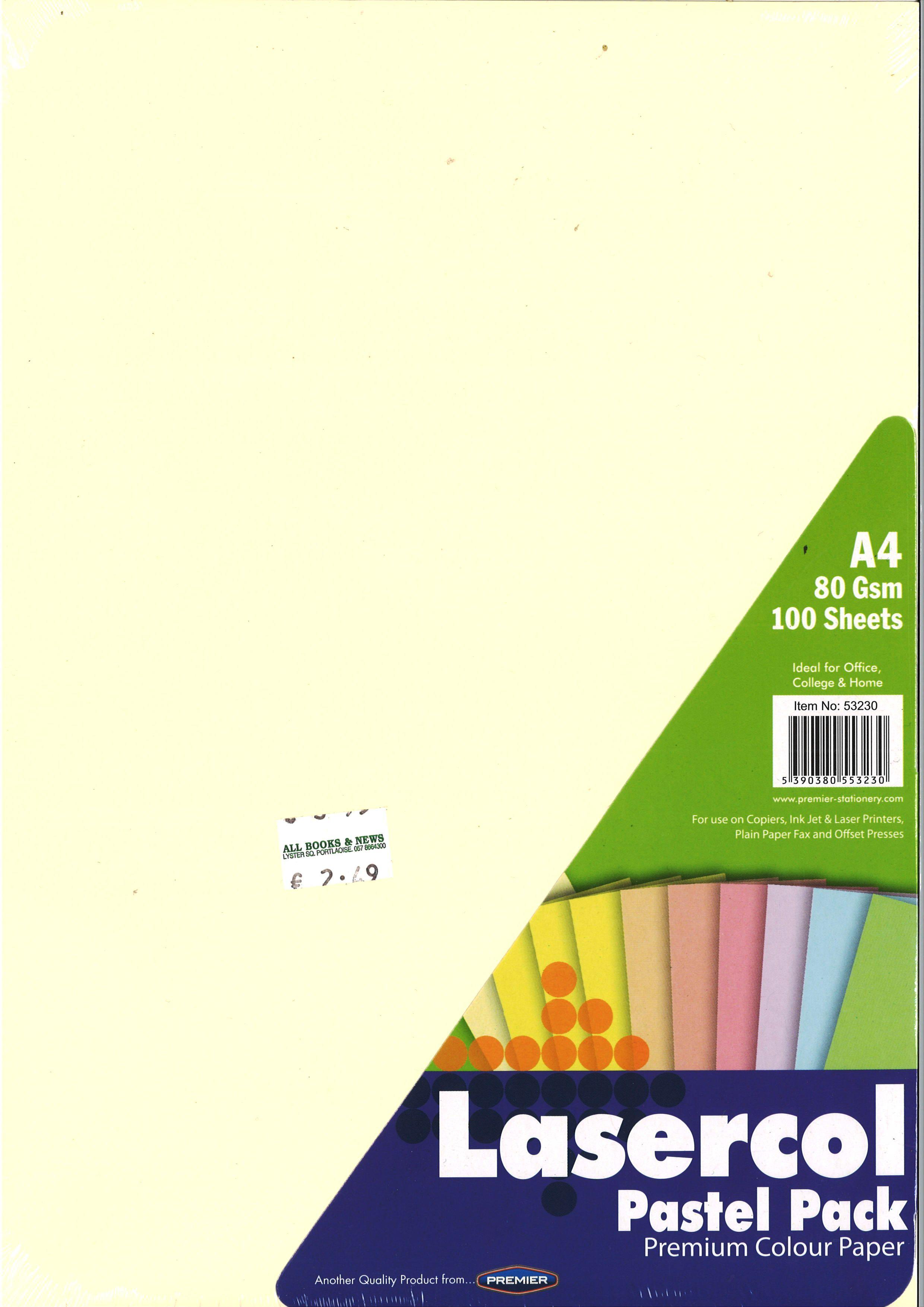 A4 COLOURED PAPER /& CARD MULTI USE CARDMAKING PRINTER COPIER 80gsm /& 160gsm