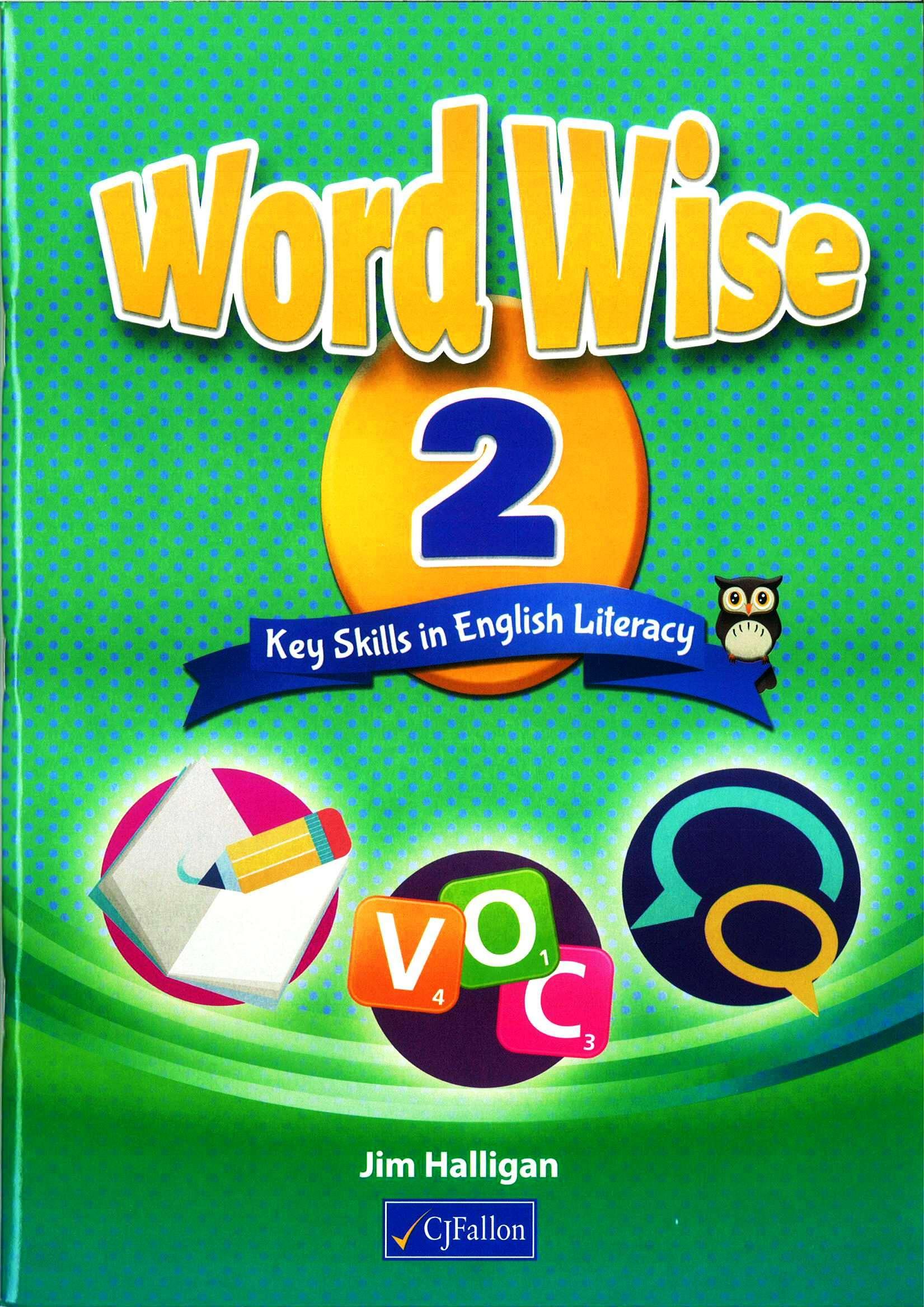 Word Wise 2 - Key Skills In English Literacy 2nd Class School Books