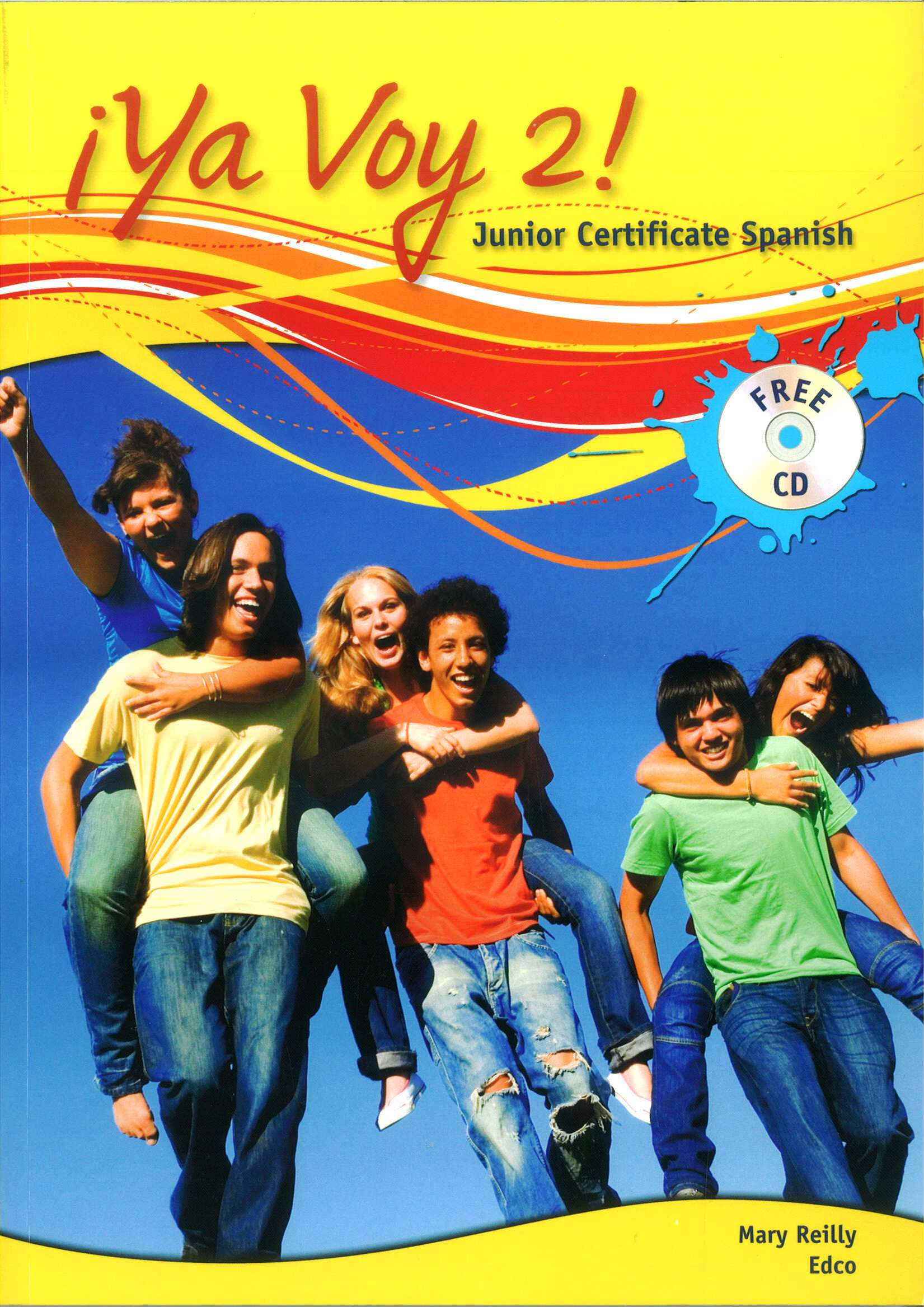 Spanish School Book Cover : Ya voy junior certificate spanish textbook